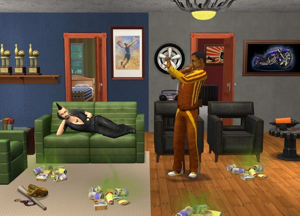 Скриншот The Sims 2: Apartment Life