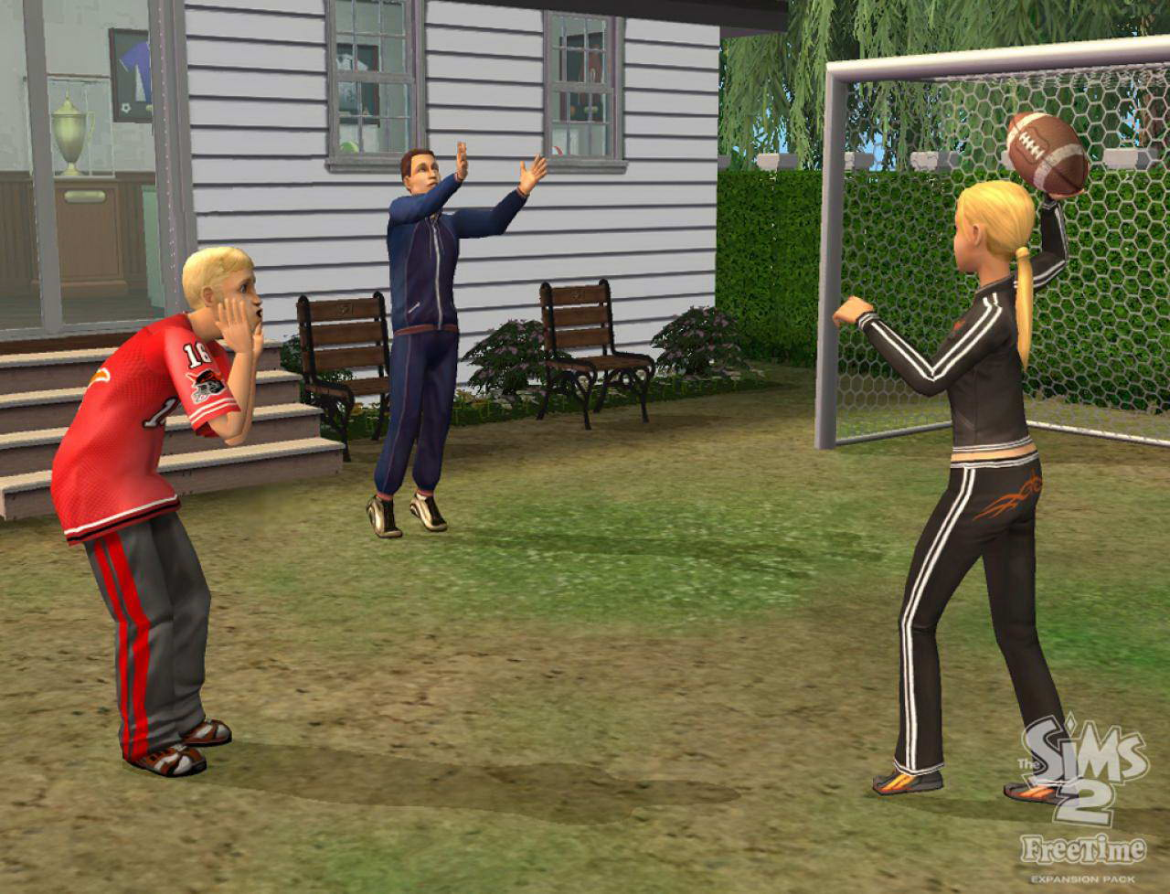 Скриншот The Sims 2: FreeTime.