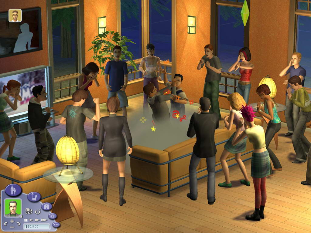 Скриншот The Sims 2: Nightlife