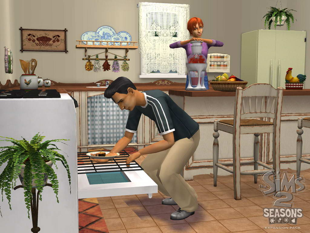 Скриншот The Sims 2: Seasons