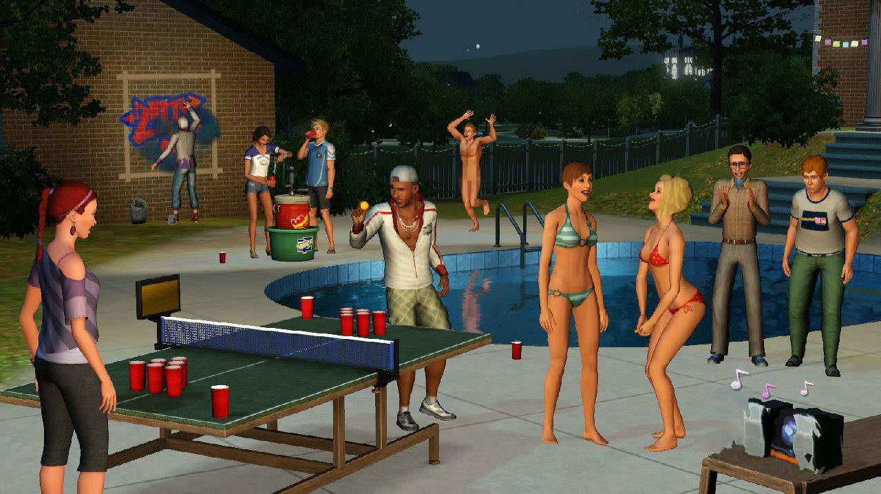 Скриншот The Sims 3: Generations