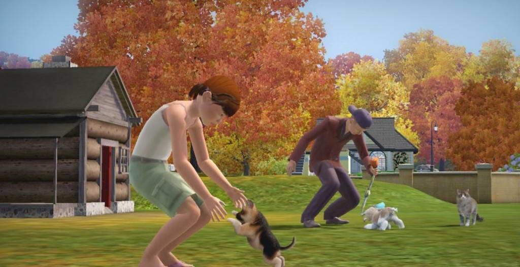 скачать игру The Sims 3 питомцы - фото 10