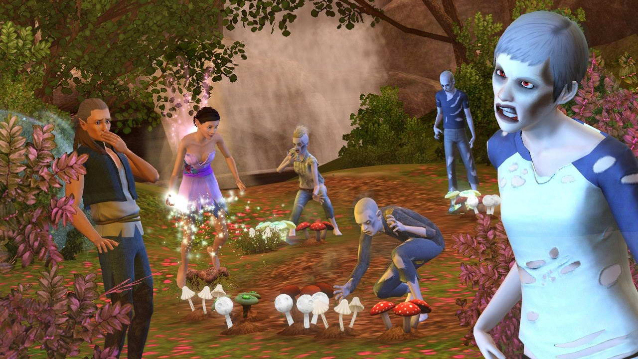 Скриншот The Sims 3: Supernatural