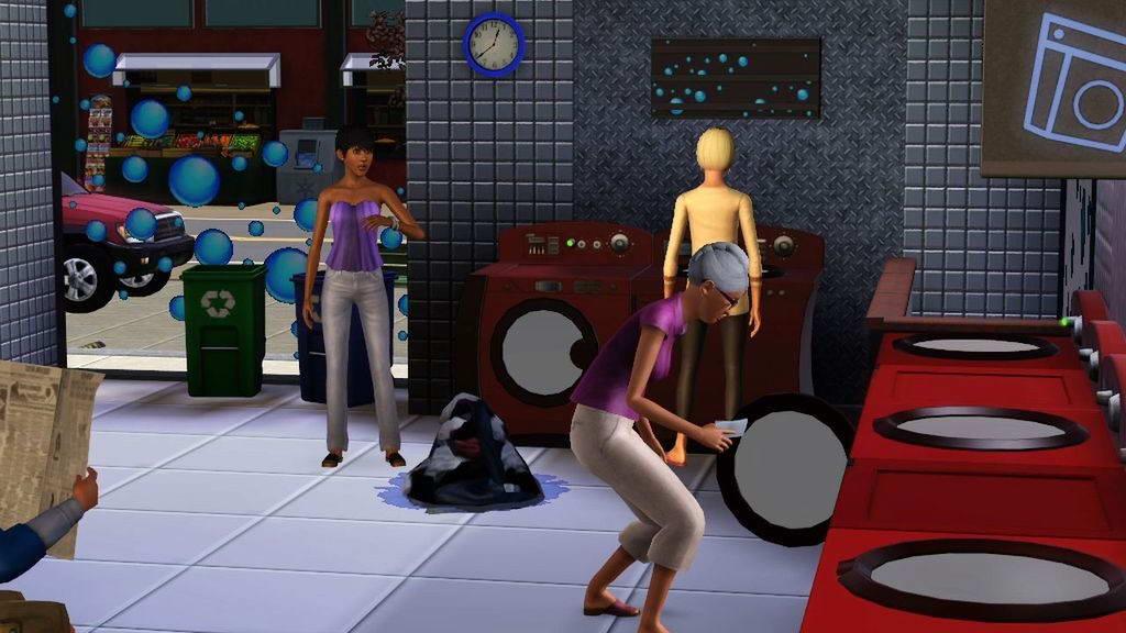 Скриншот The Sims 3: Town Life Stuff