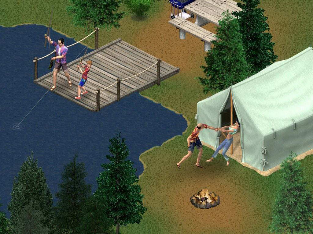 Скриншот The Sims: Vacation