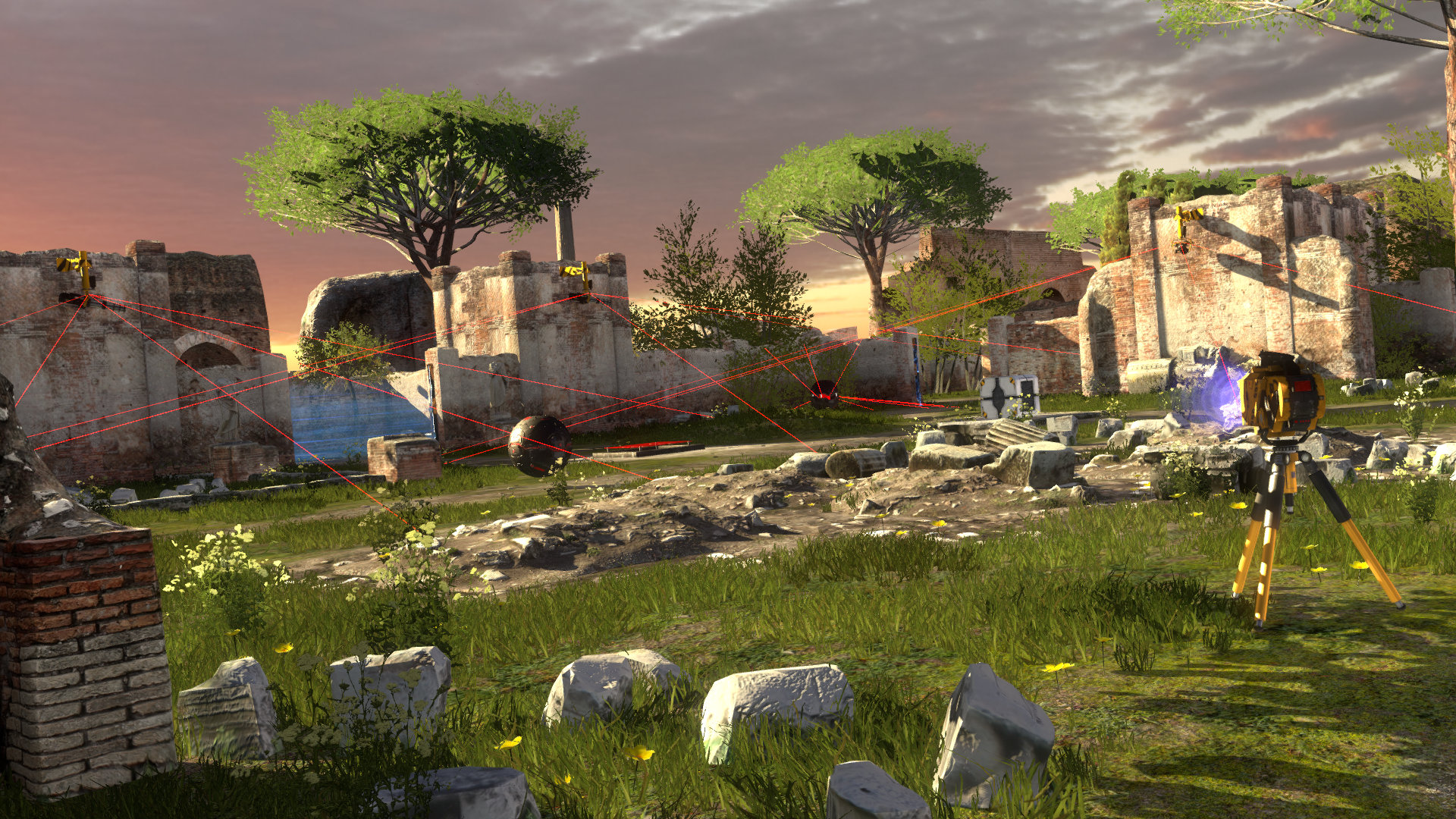 Скриншот The Talos Principle
