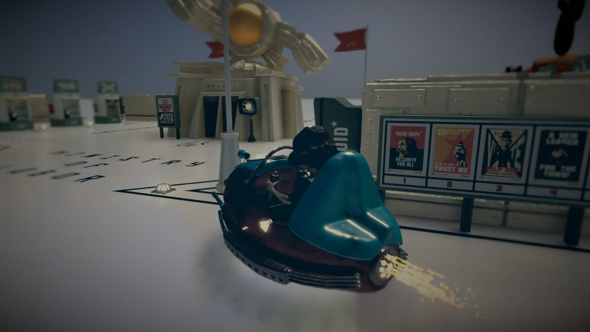 Скриншот The Tomorrow Children