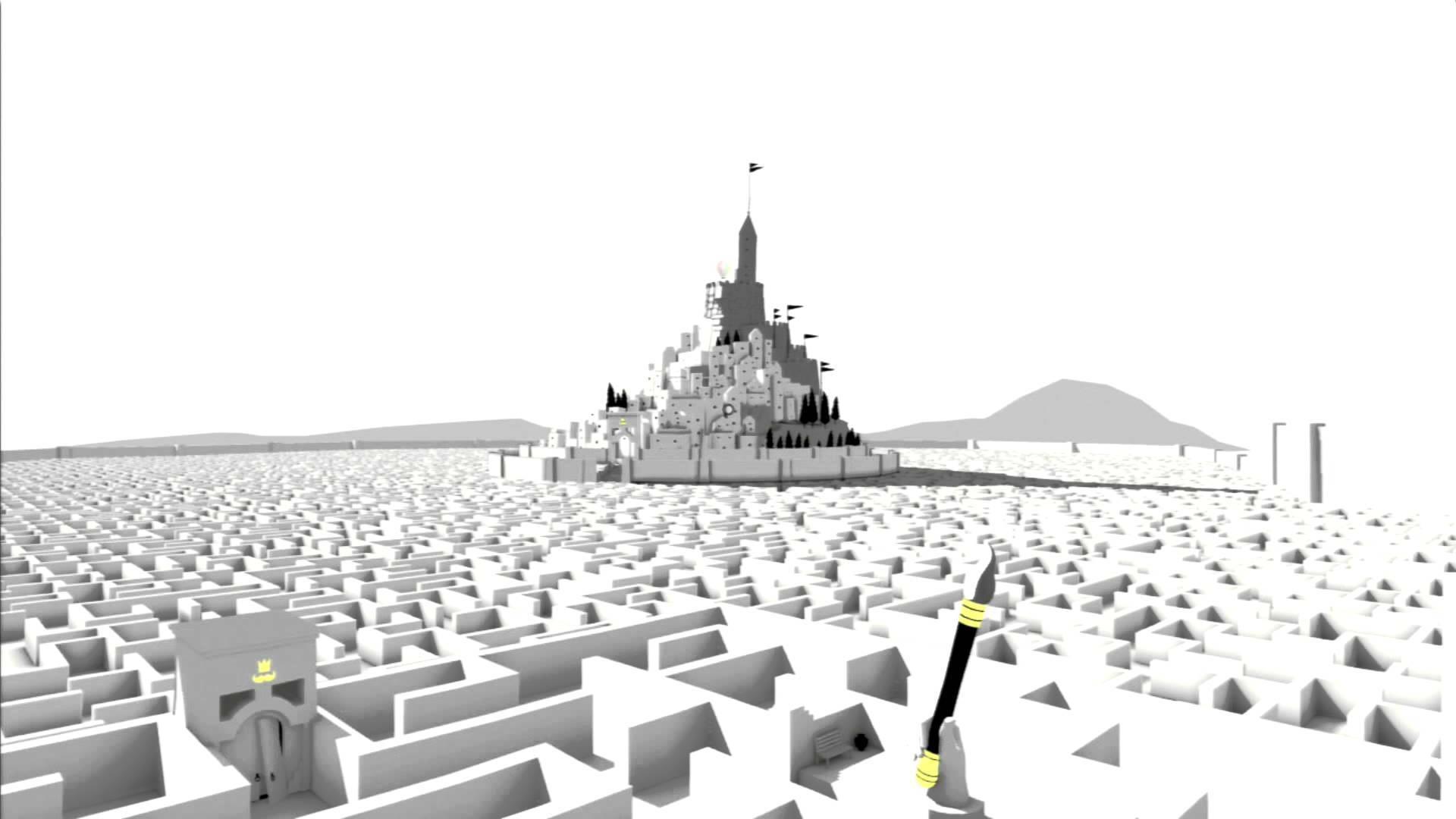 Скриншот The Unfinished Swan
