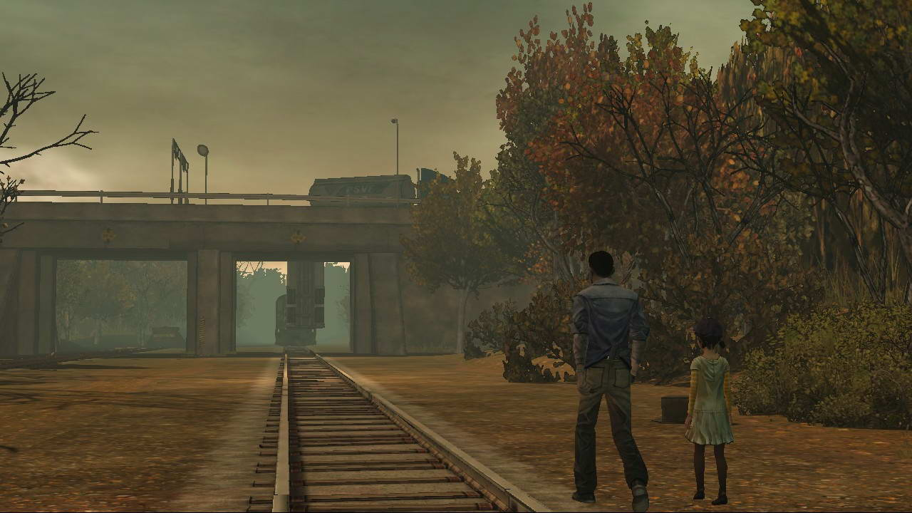 Скриншот The Walking Dead: Episode 3 - Long Road Ahead