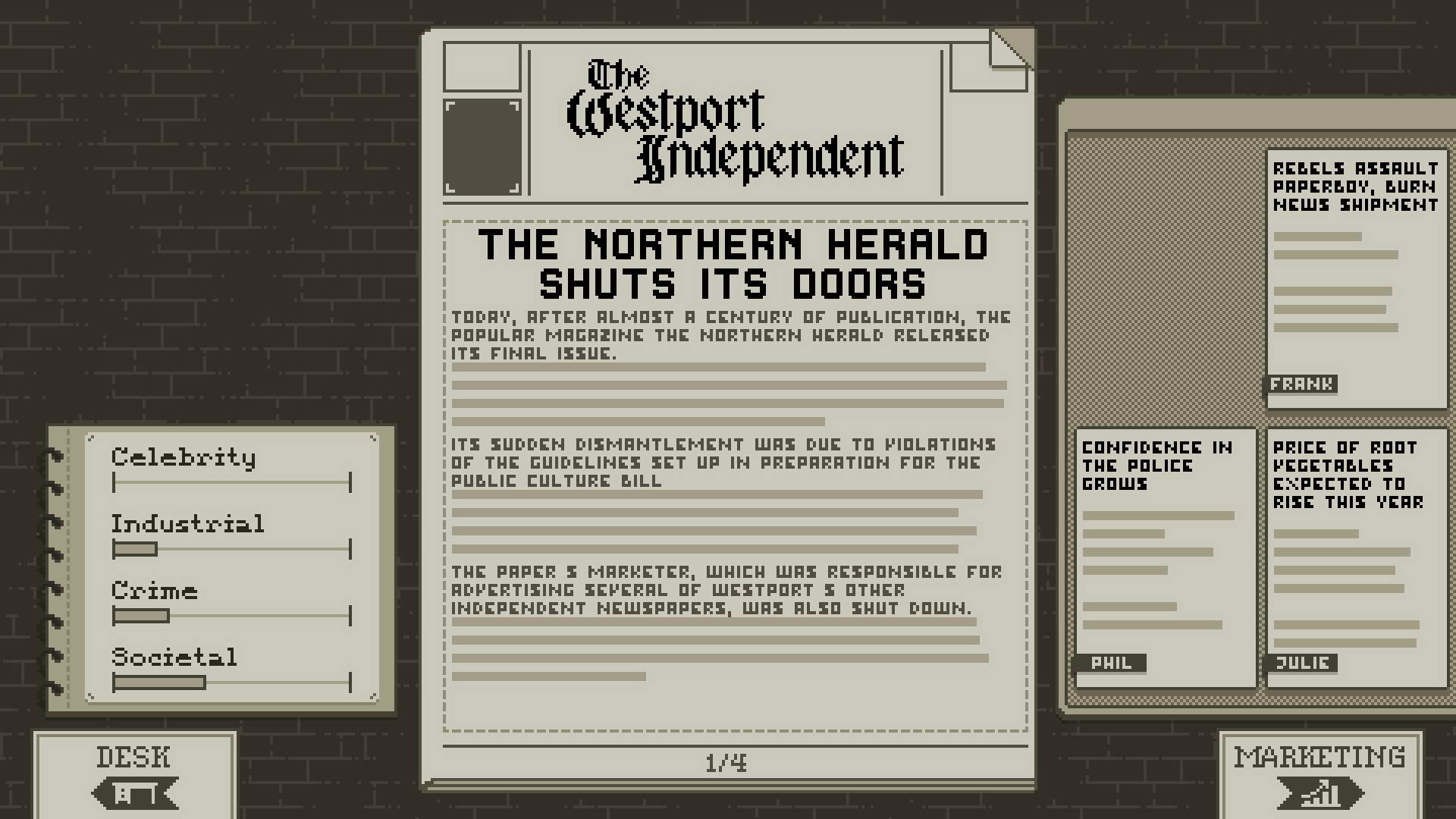 Скриншот The Westport Independent