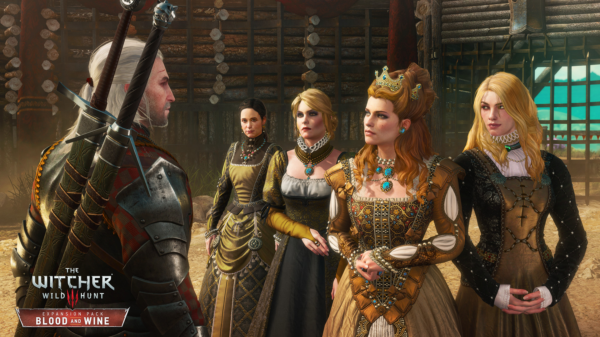 Скриншот The Witcher 3: Wild Hunt - Blood and Wine