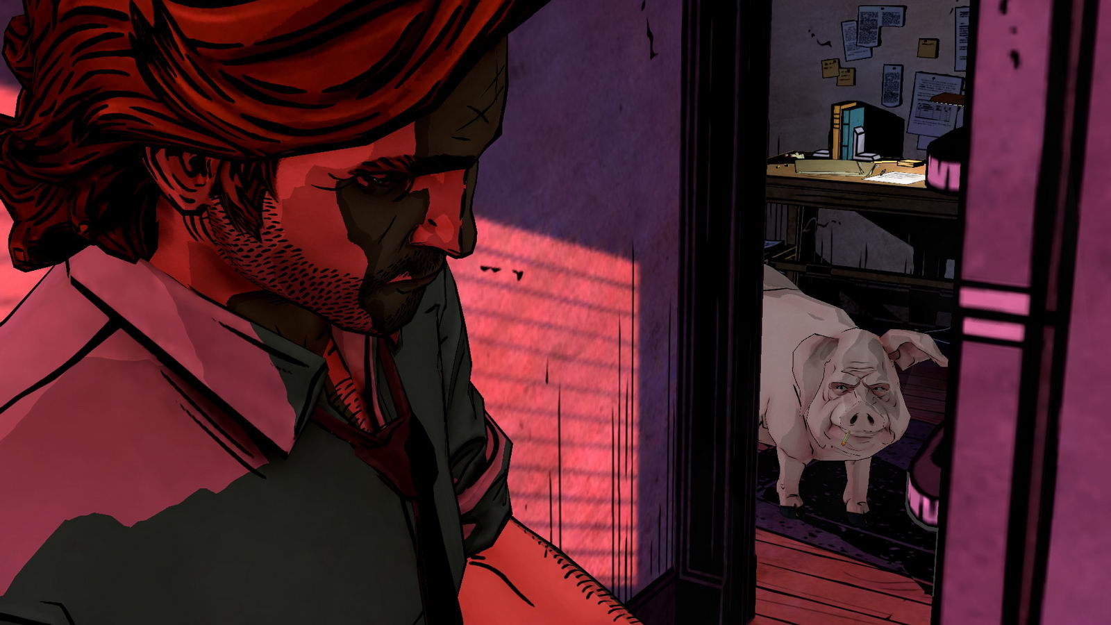 Скриншот The Wolf Among Us: Episode 1 - Faith