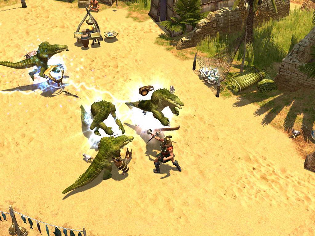 Скриншот Titan Quest: Immortal Throne