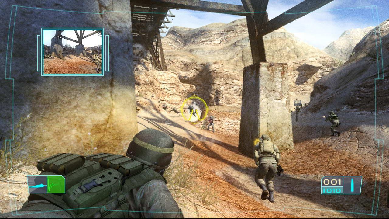 Скриншот Tom Clancy's Ghost Recon: Advanced Warfighter