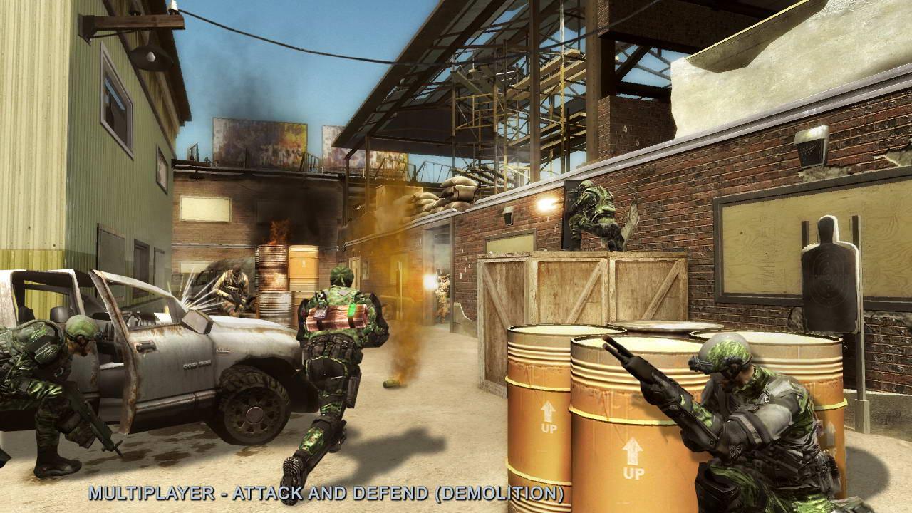 Скриншот Tom Clancy's Rainbow Six: Vegas 2