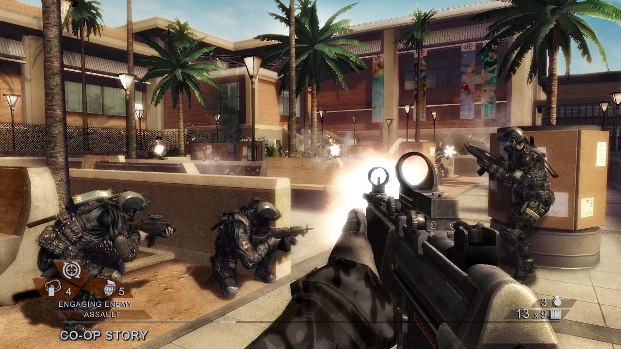 Скриншот Tom Clancy's Rainbow Six: Vegas 2
