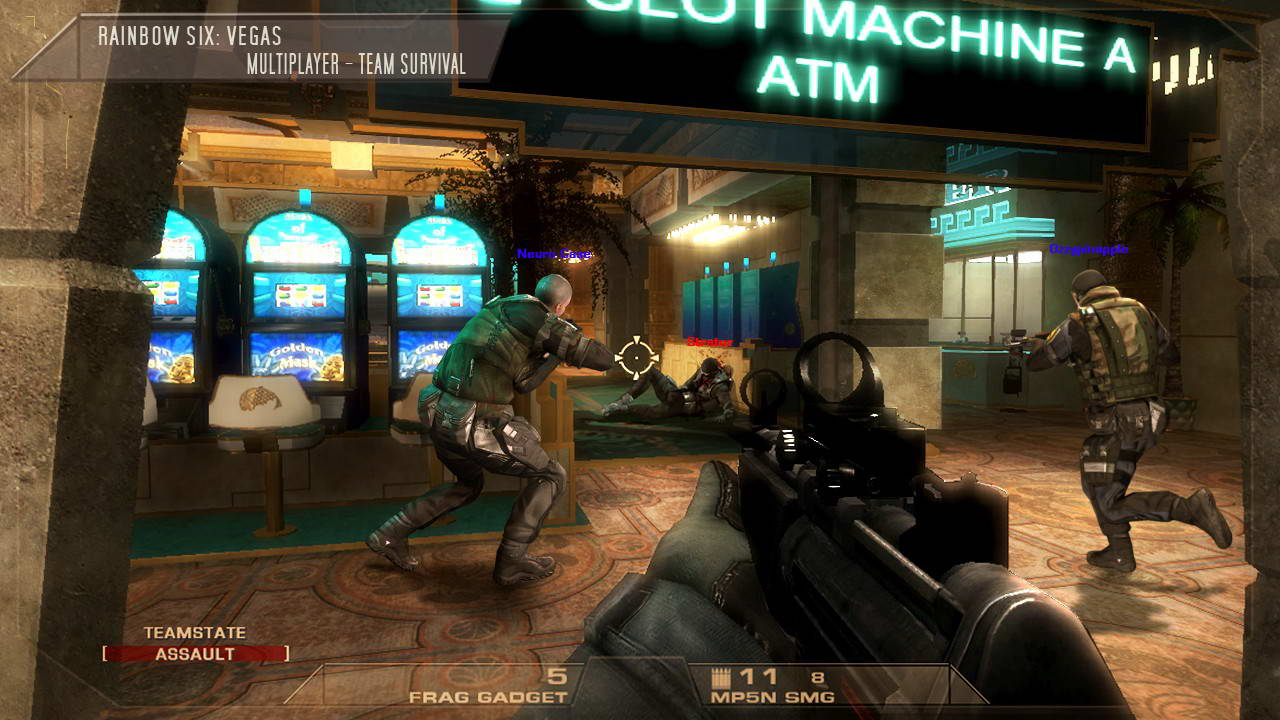 Скриншот Tom Clancy's Rainbow Six: Vegas