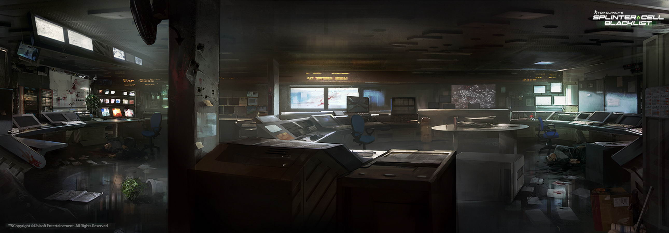 Арт Splinter Cell: Blacklist
