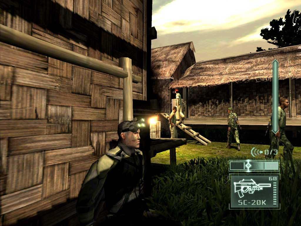 Скриншот Tom Clancy's Splinter Cell: Pandora Tomorrow