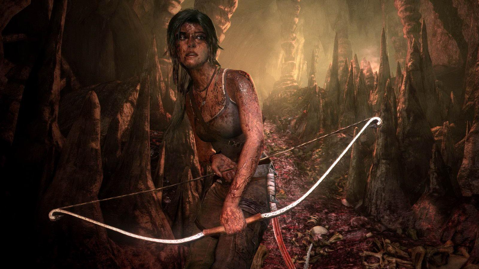 Скриншот Tomb Raider