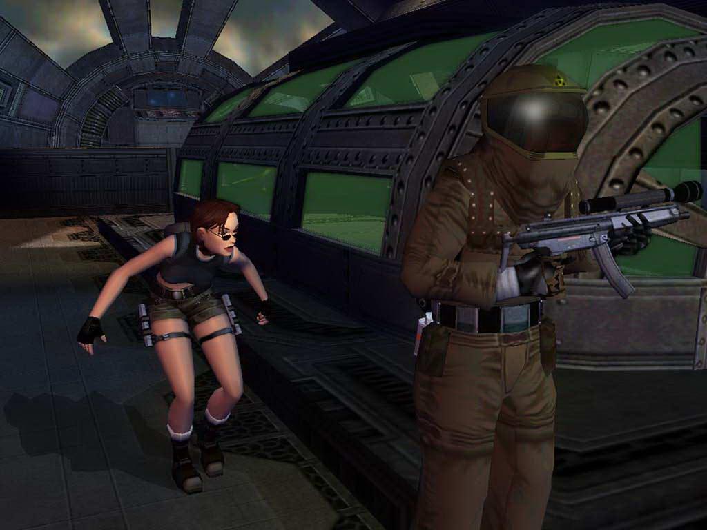 Скриншот Tomb Raider: The Angel of Darkness