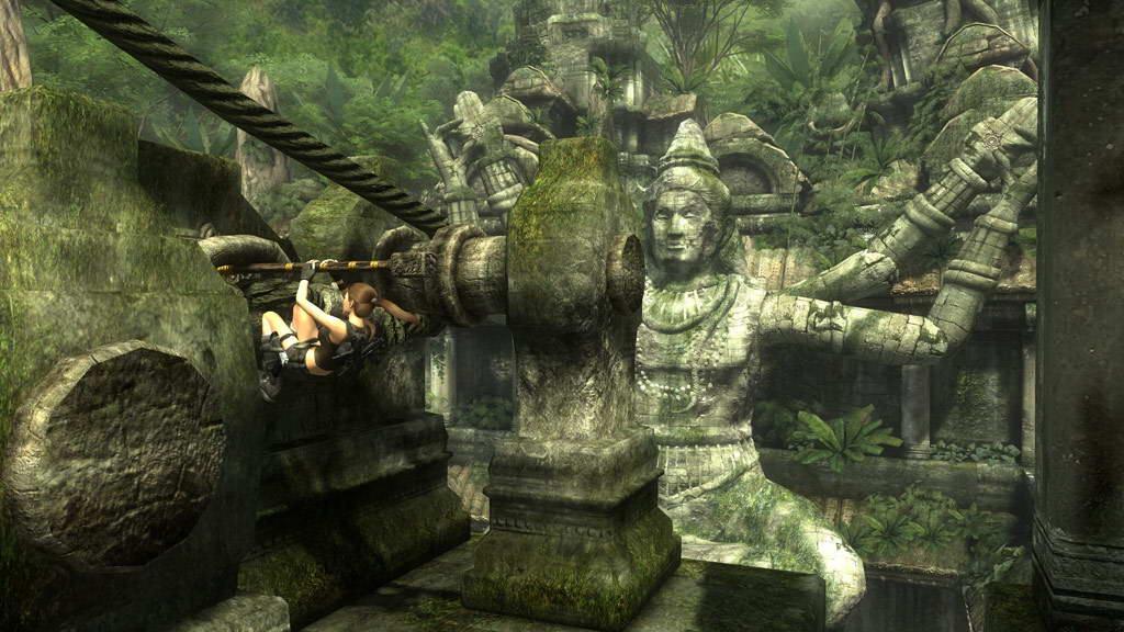 Скриншот Tomb Raider: Underworld