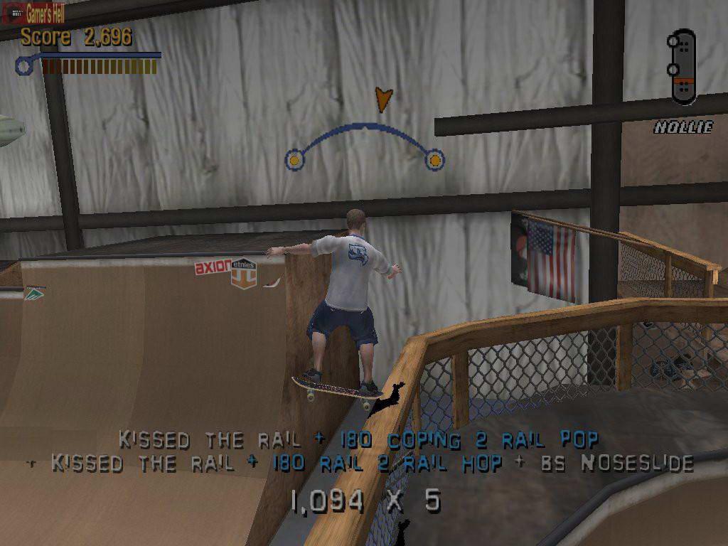 Скриншот Tony Hawk's Pro Skater 3