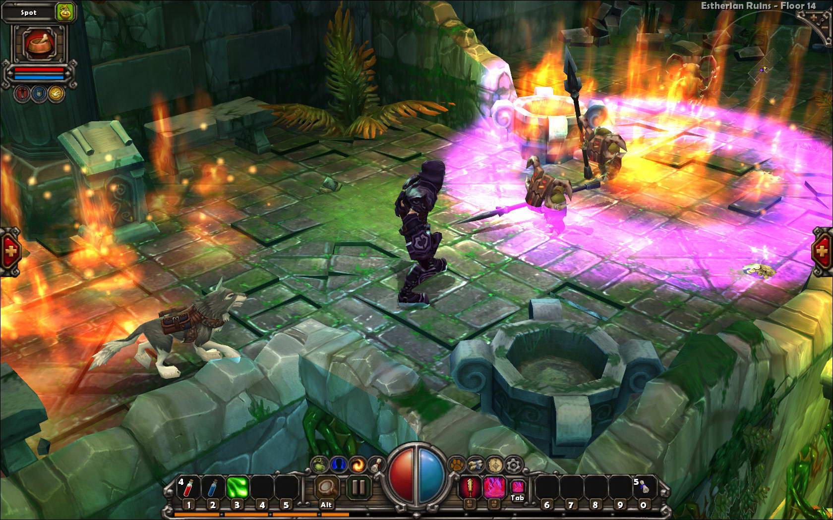 Скриншот Torchlight