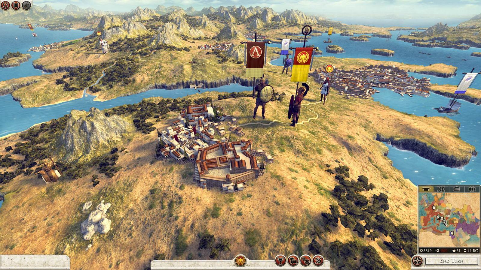 Скриншот Total War Rome II: Hannibal at the Gates