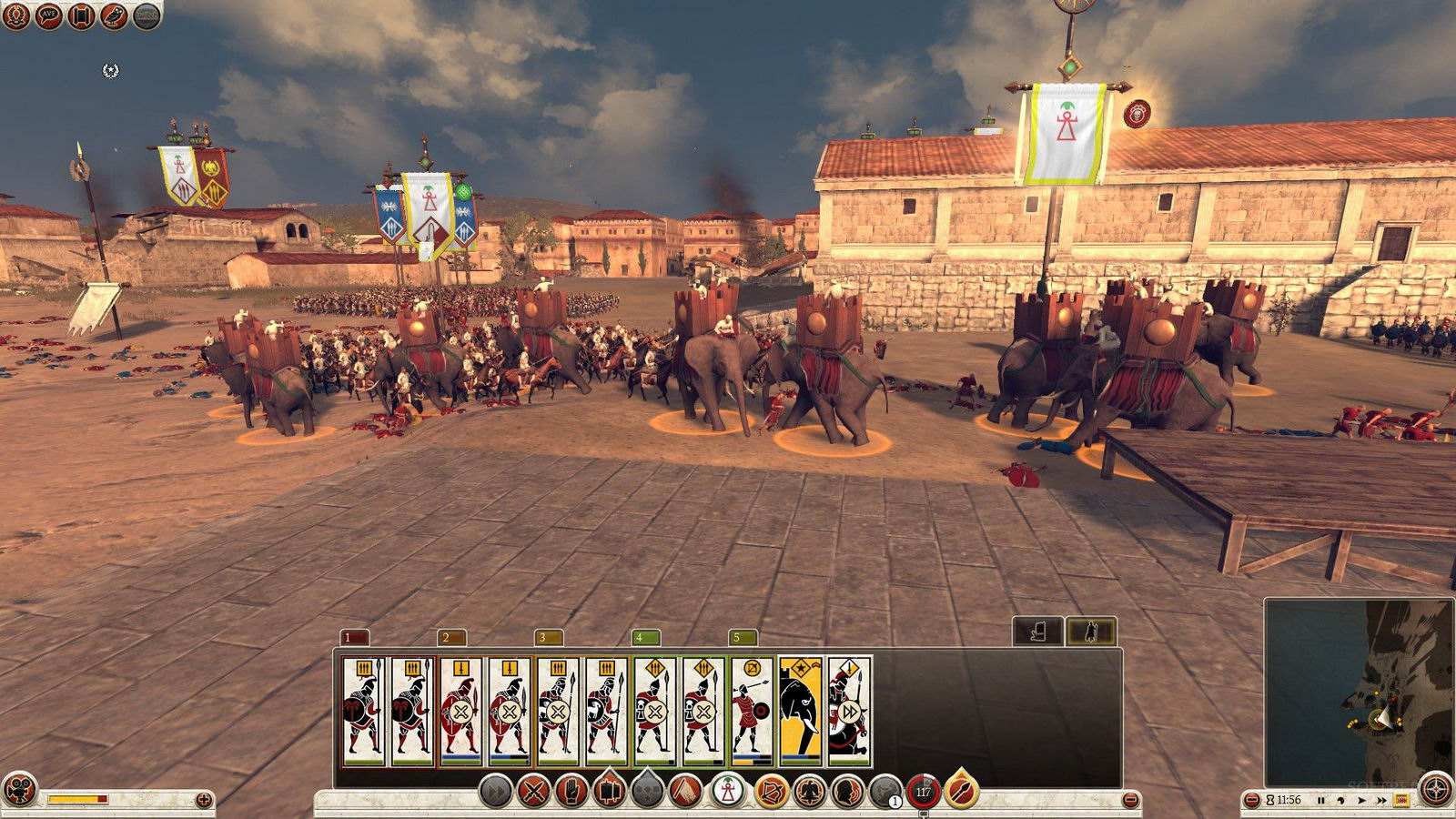 Скриншот Total War Rome II: Hannibal at the Gates