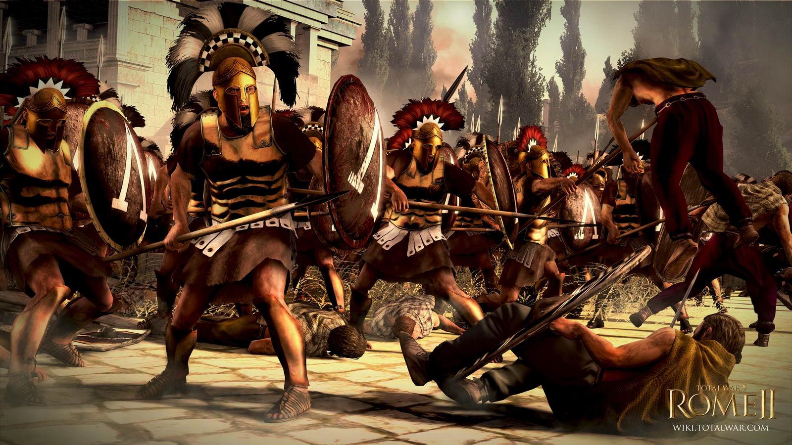 Скриншот Total War Rome 2