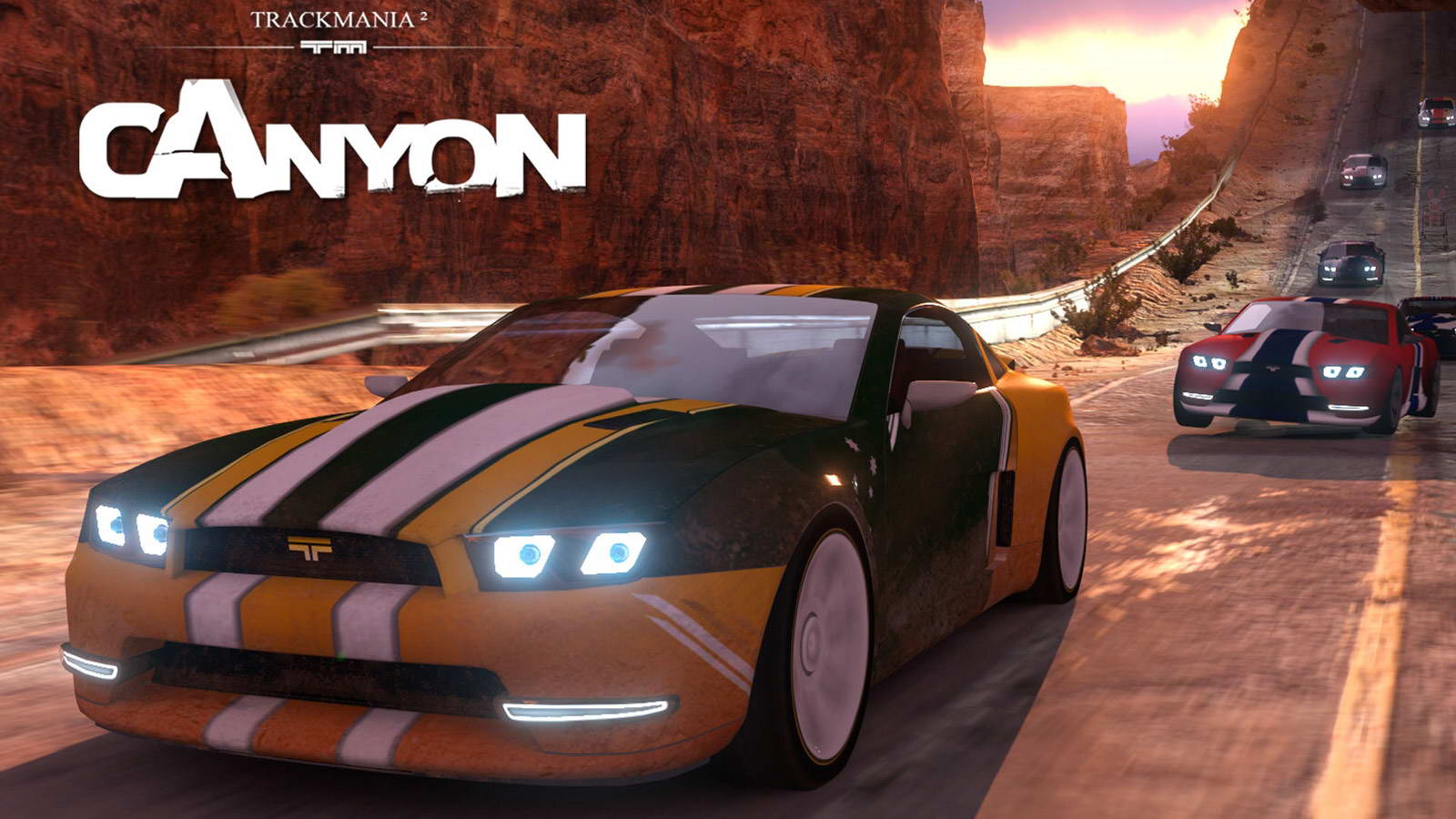 Скриншот TrackMania 2: Canyon