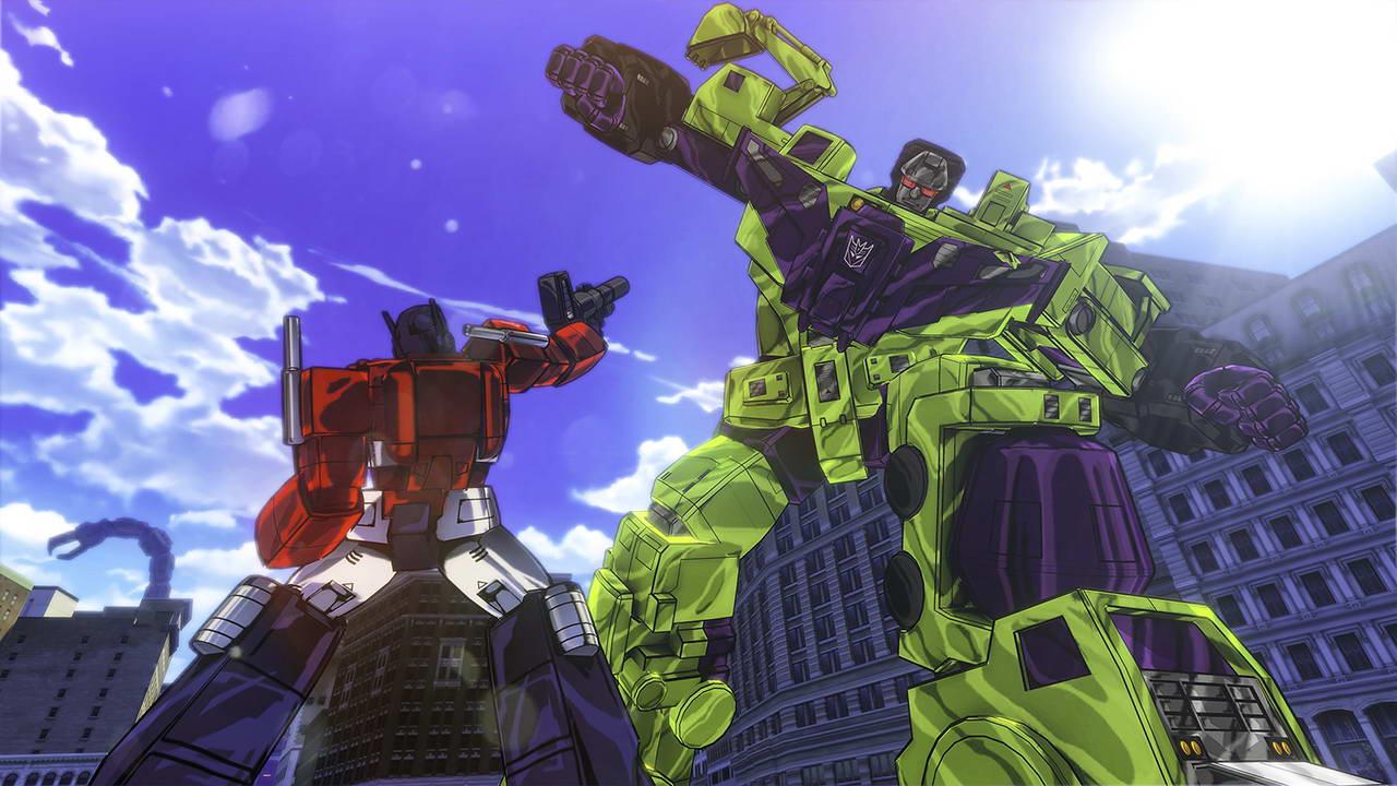 Скриншот Transformers Devastation