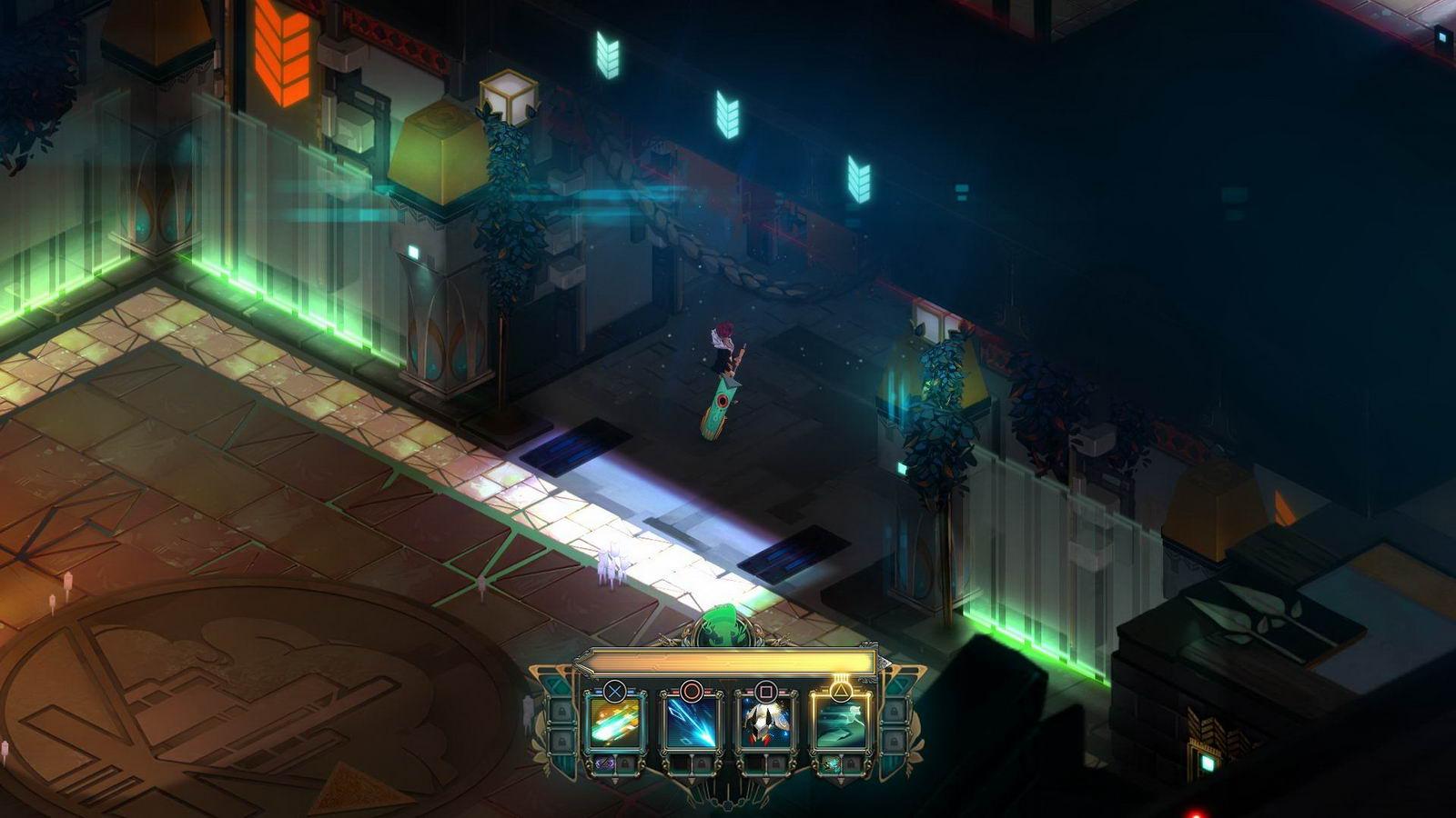 Скриншот Transistor