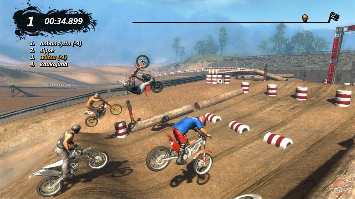 Скриншот Trials Evolution