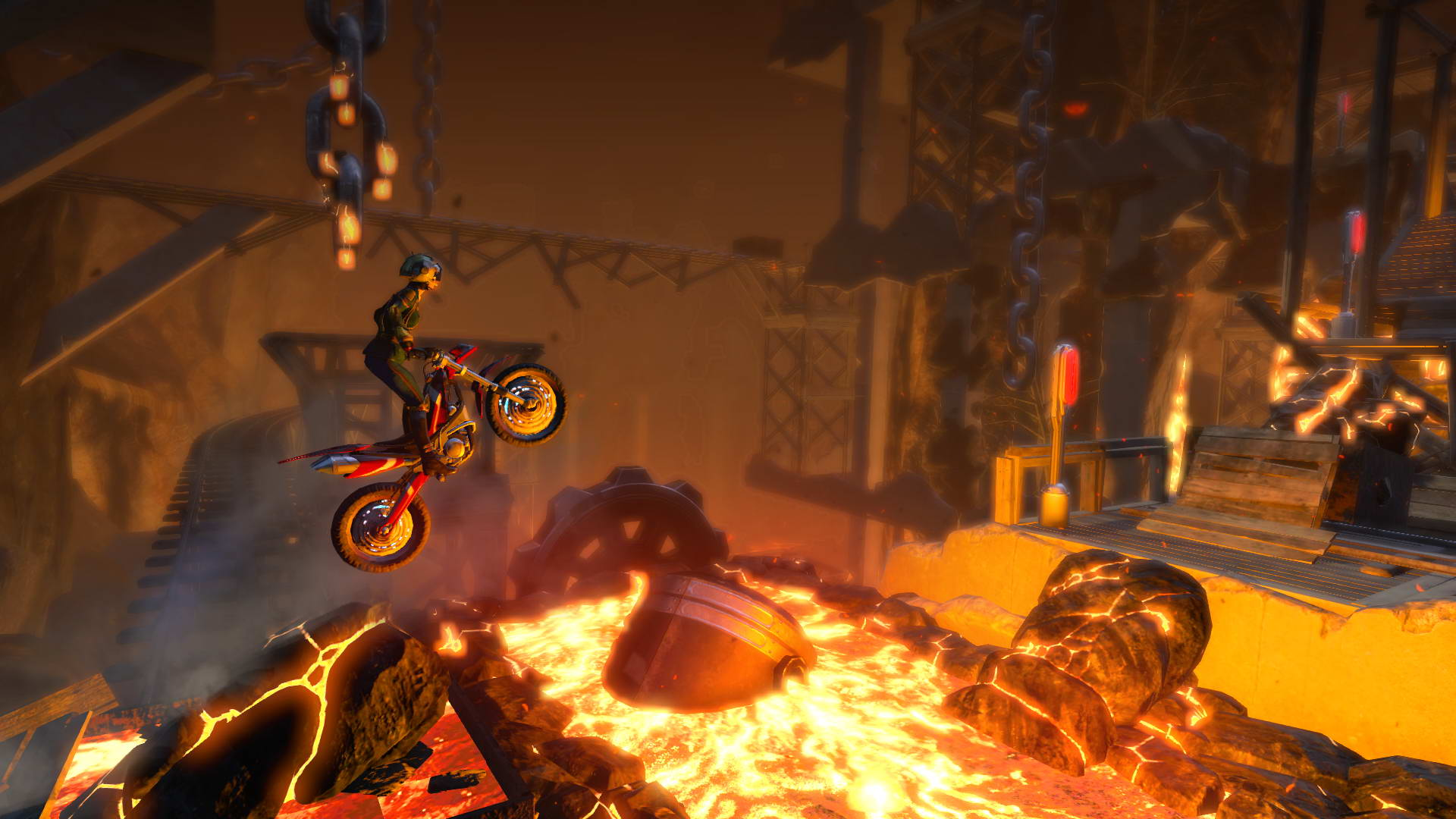 Скриншот Trials Fusion: The Awesome Max Edition