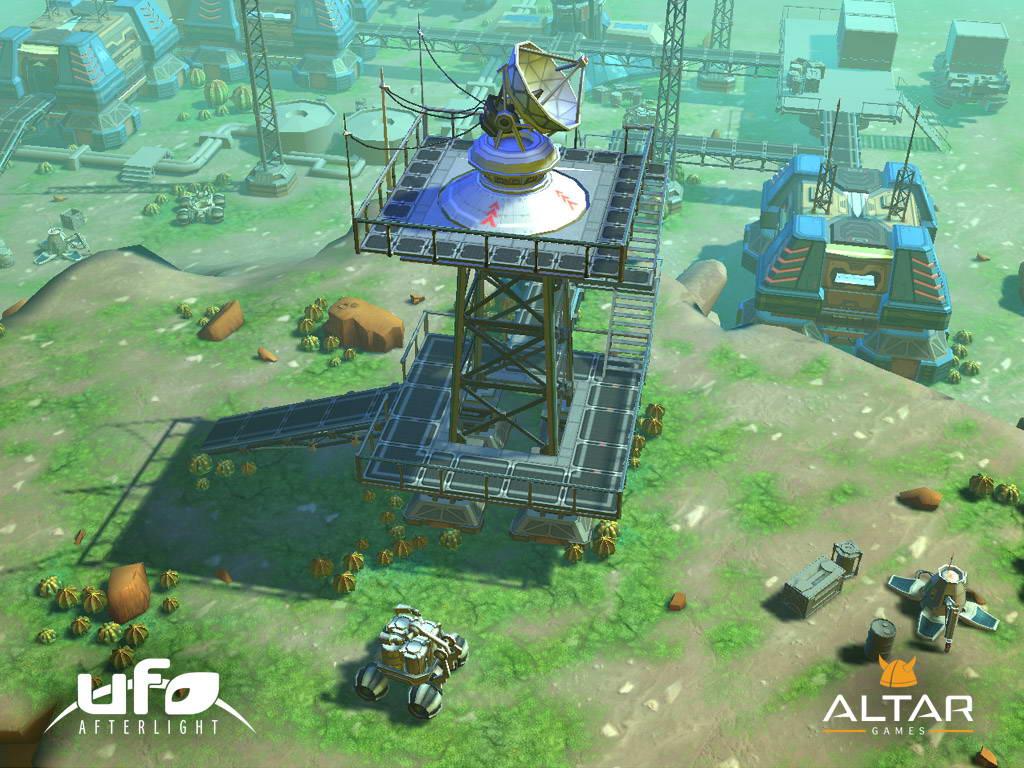 Ufo: afterlight - третья компьютерная игра компании altar interactive из серии ufo