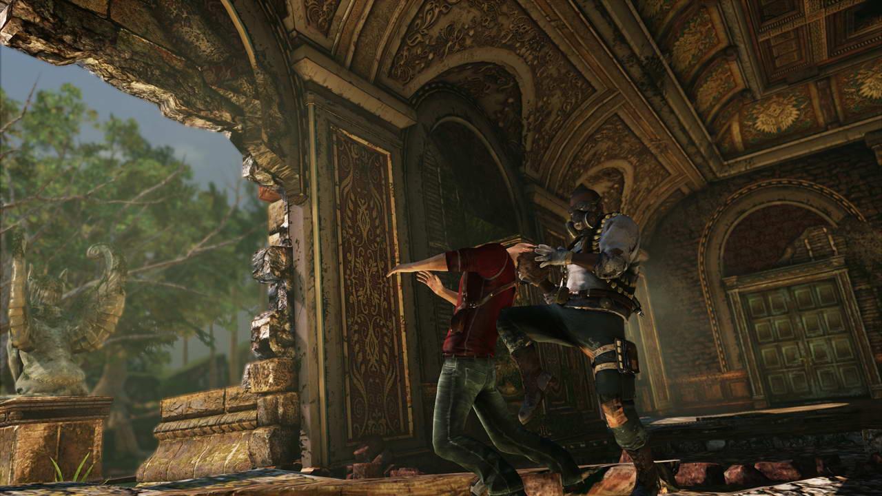 Скриншот Uncharted 3: Drake's Deception