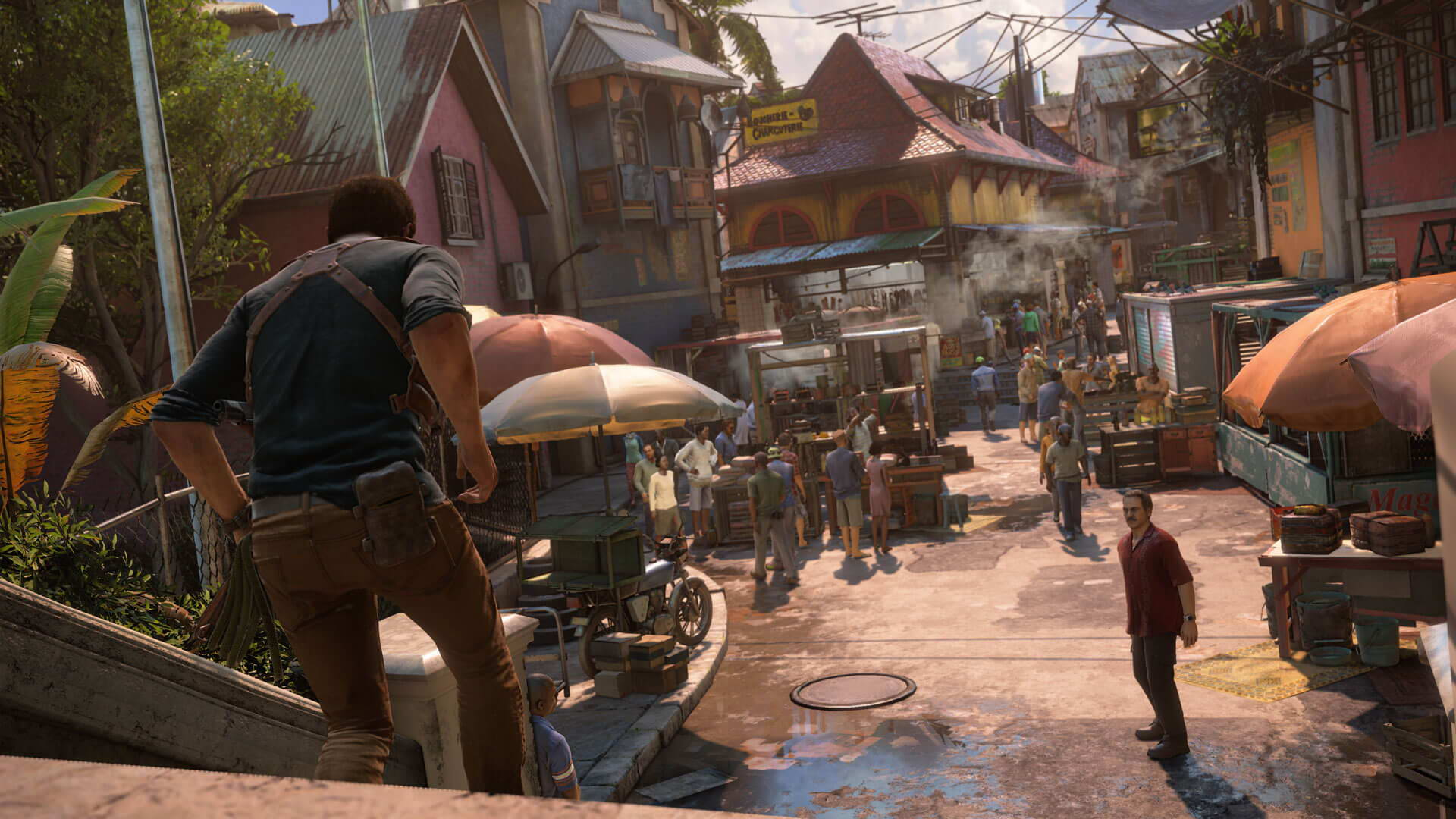 Скриншот Uncharted: The Nathan Drake Collection