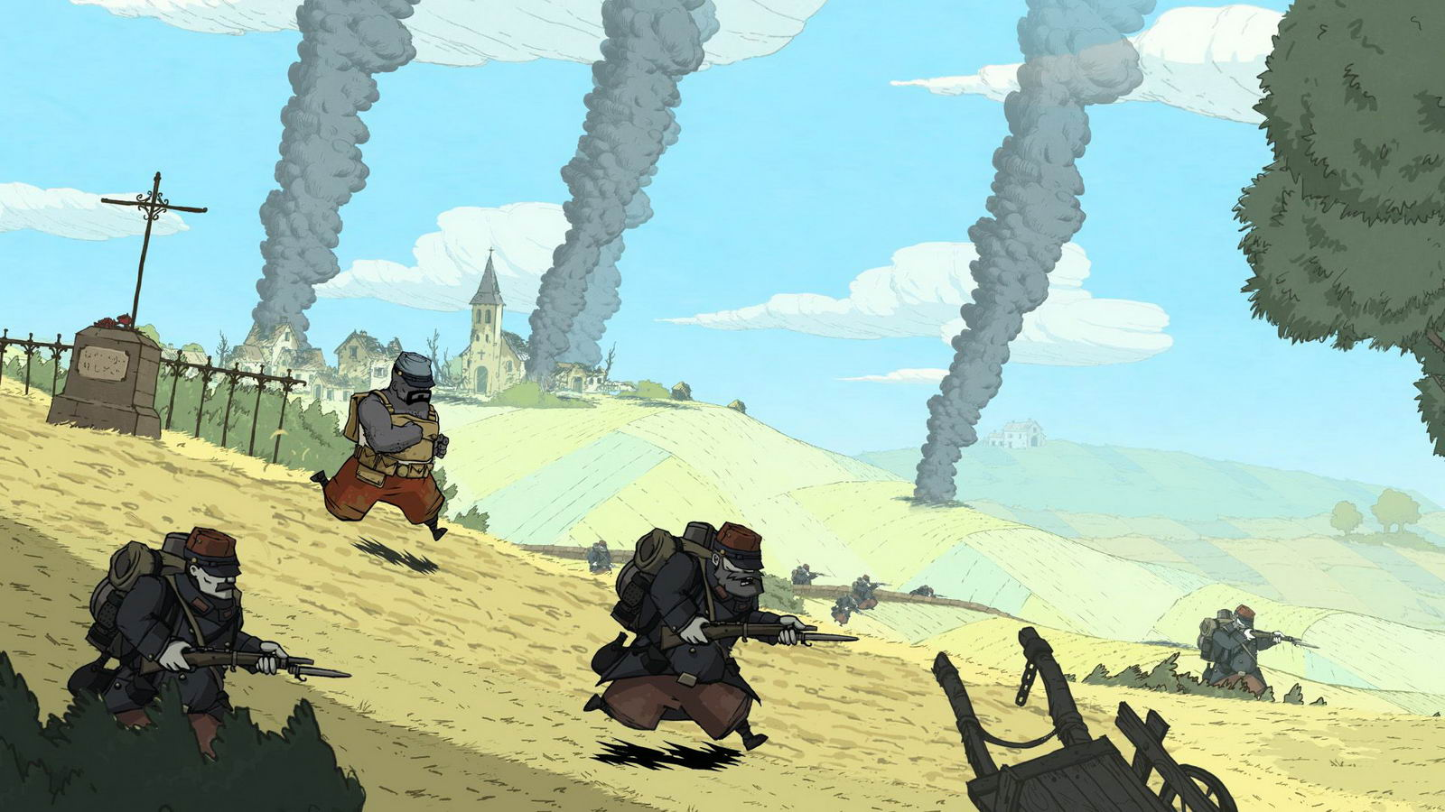 Скриншот Valiant Hearts: The Great War