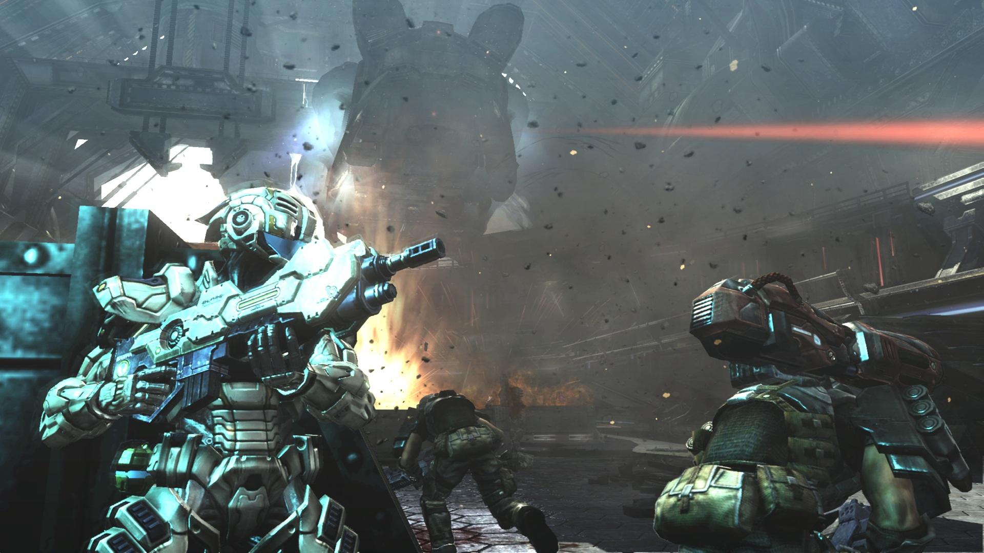 Скриншот Vanquish