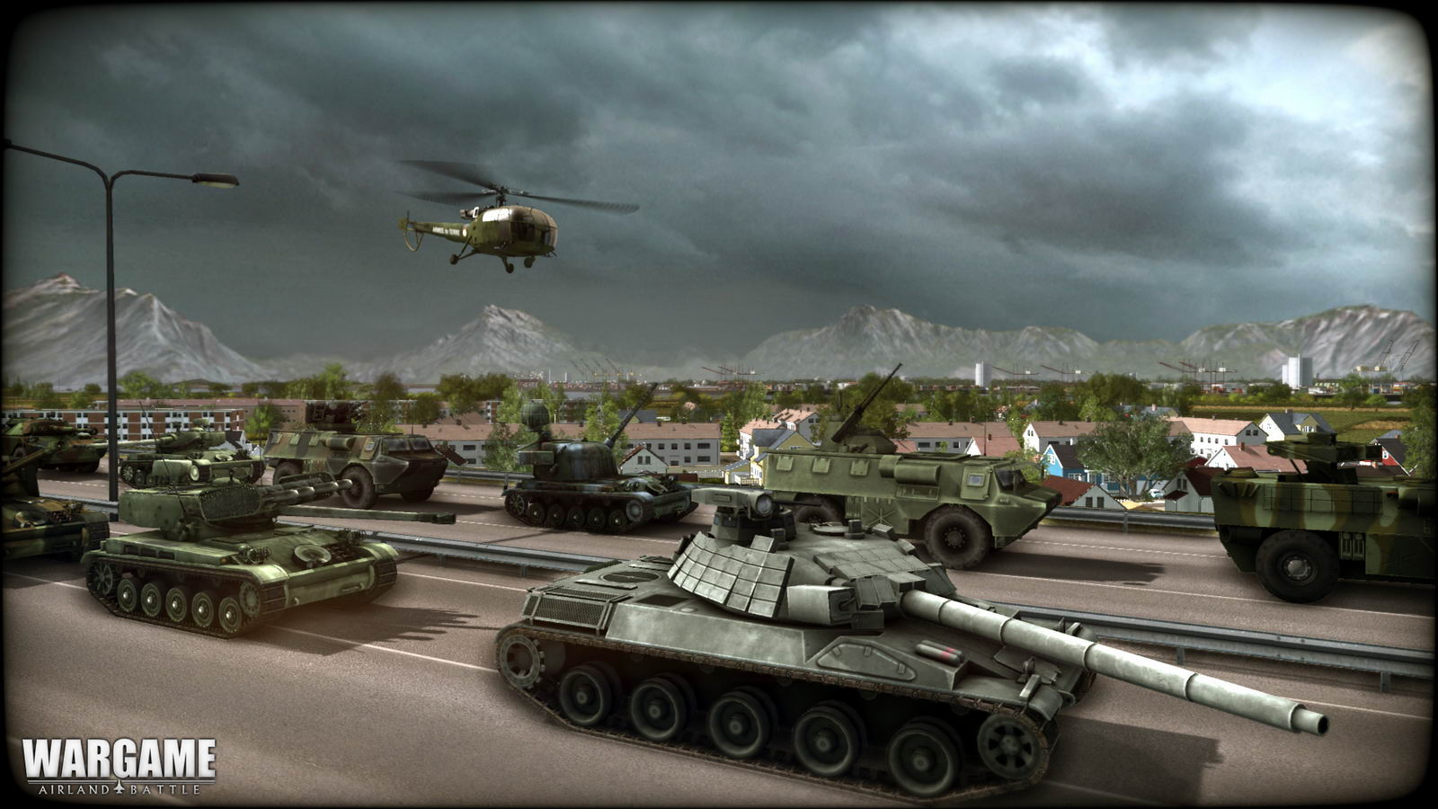Скриншот Wargame: AirLand Battle