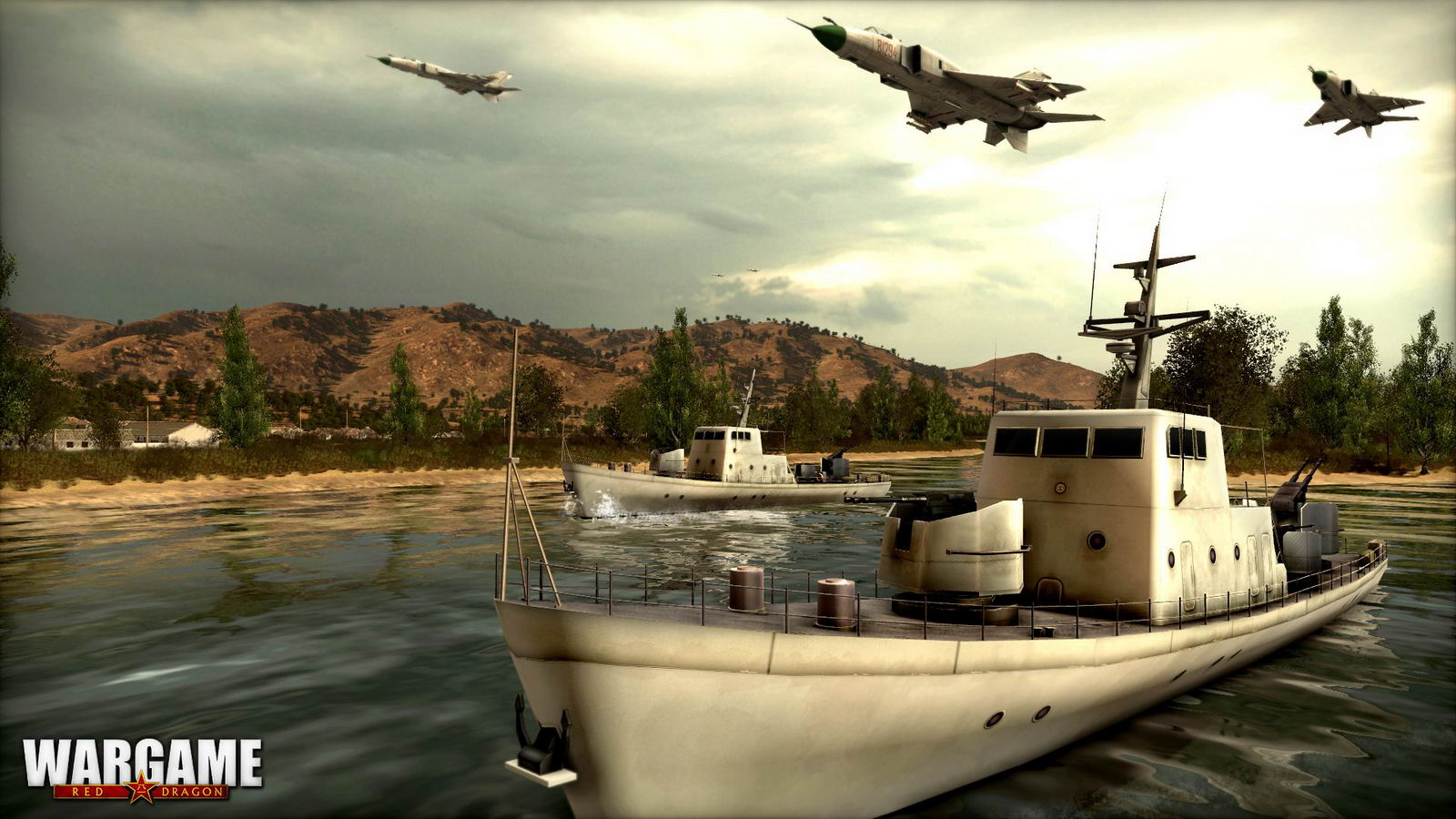 Скриншот Wargame: Red Dragon