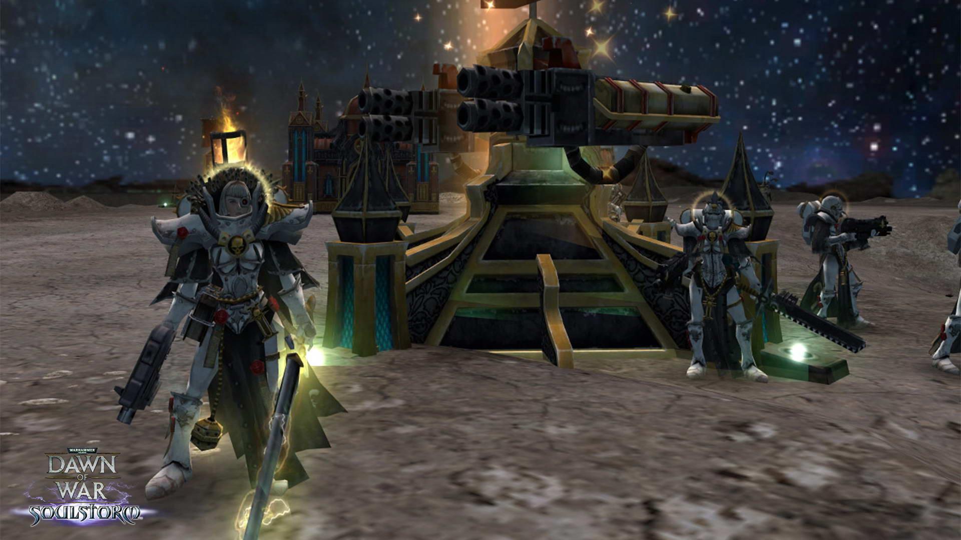 Скриншот Warhammer 40000: Dawn of War: Soulstorm
