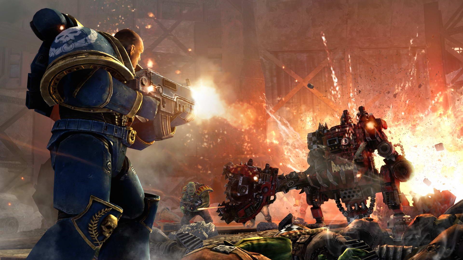 Скриншот Warhammer 40,000: Space Marine