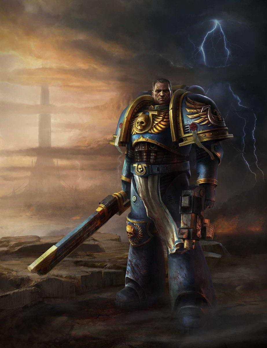Арт Warhammer 40,000: Space Marine