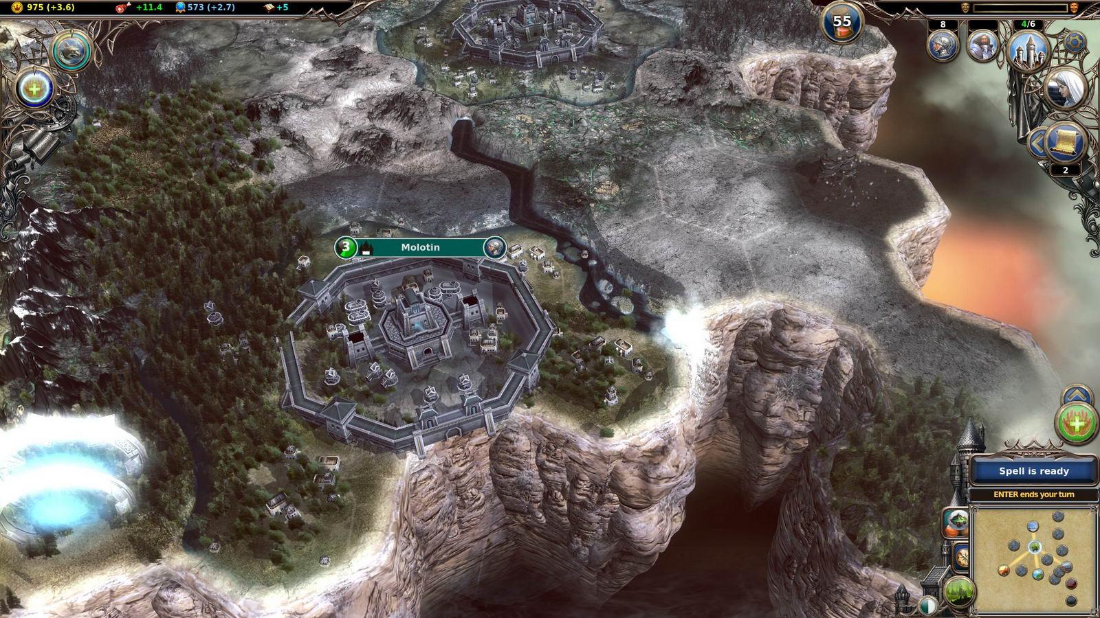 Скриншот Warlock II: The Exiled