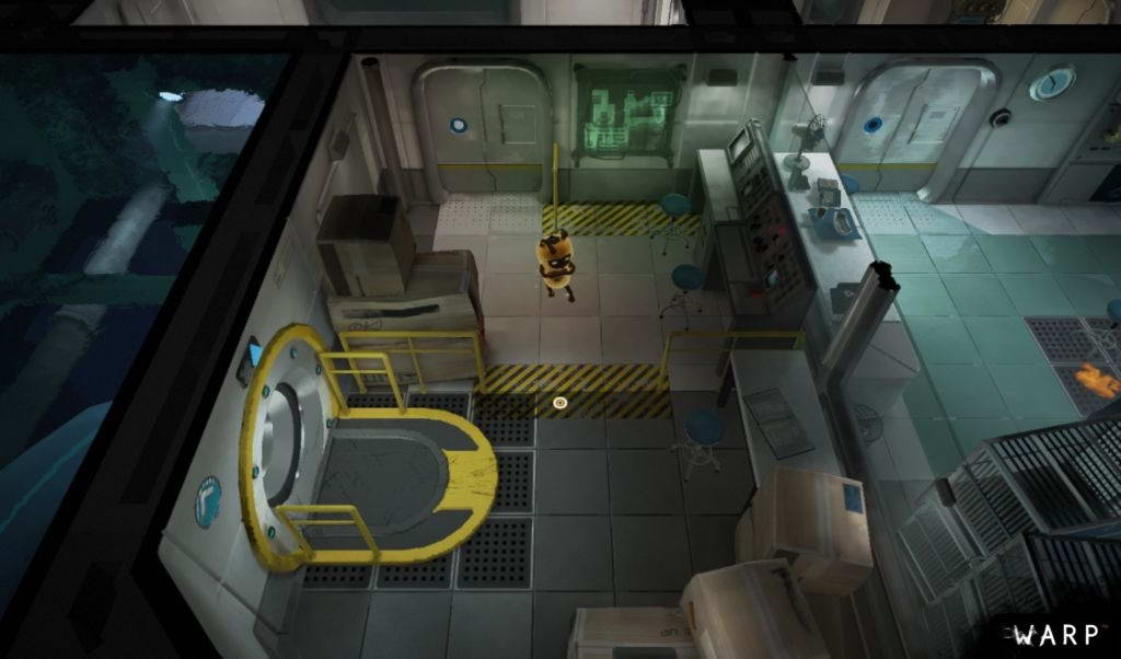 Скриншот WARP