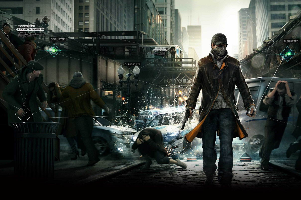 Арт Watch Dogs