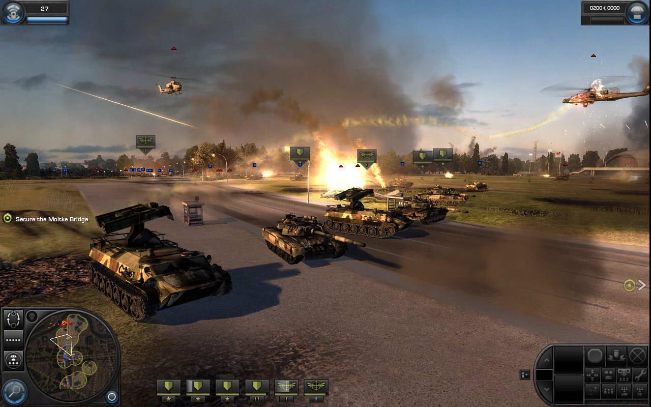 Скриншот World in Conflict: Soviet Assault